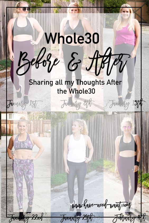Whole30 Final Comparison and Thoughts of Effectiveness for Body Reset and Weight Loss