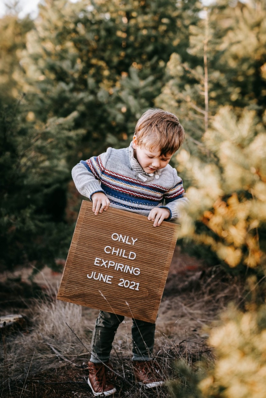 A very merry surprise! Sharing our amazing news. We're adding another baby to the mix!! Sharing our pregnancy announcement photos as well as giving ideas for other expecting parents. #babyannouncement #pregnancyannouncement #babynumber2 #babyontheway