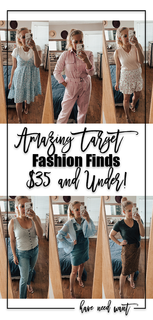 Amazing Target Fashion Finds $35 and Under! Look at these target fashion, target deals, target finds, spring fashion, spring trends, summer fashion, target shopping, target style deals. Head over to the blog to check out all my finds!! #targetstyle #targetfashion  #affordablefashion #fashionunder35 #targetdoesitagain