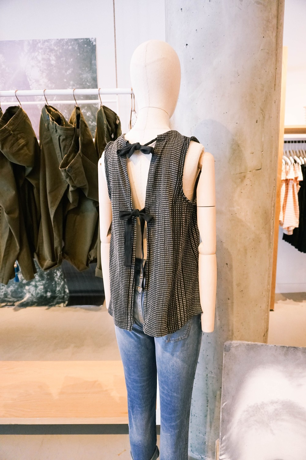 Back to School Shopping-Lou & Grey-Tie Back Detail