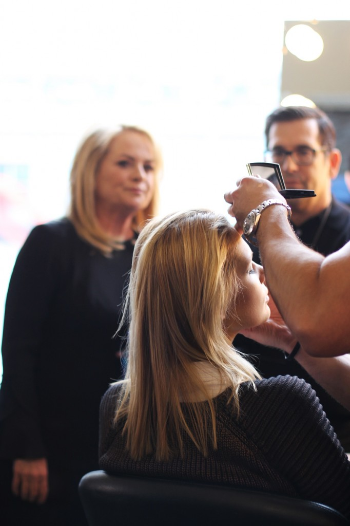 Backstage at Pamella Roland-Hair and Makeup-Behind the Scenes-NYFW Models 7