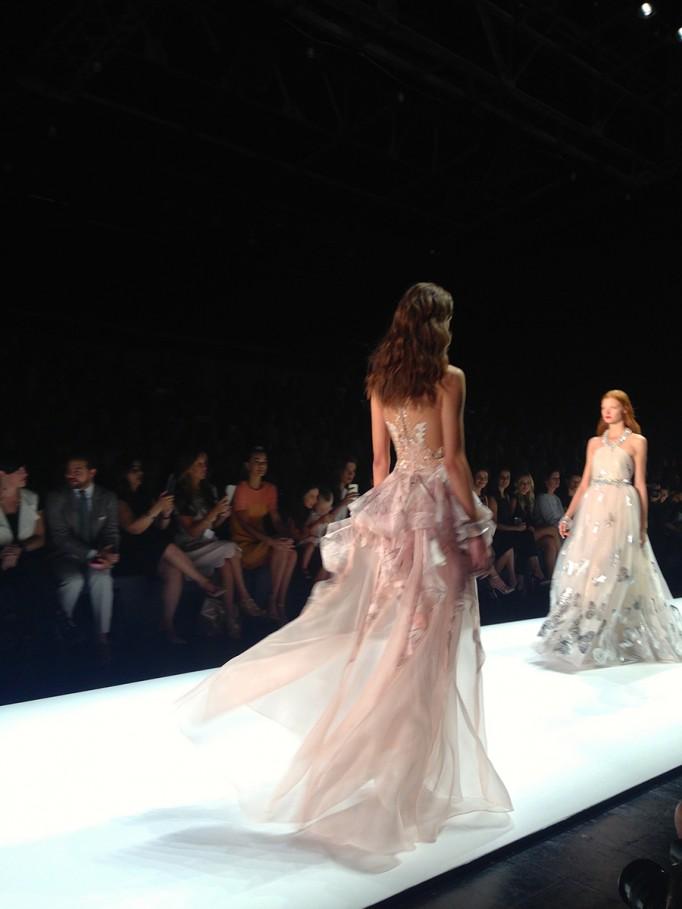 Badgley Mischka-NYFW SS16-Runway-Behind the scenes-Fashion Week 3