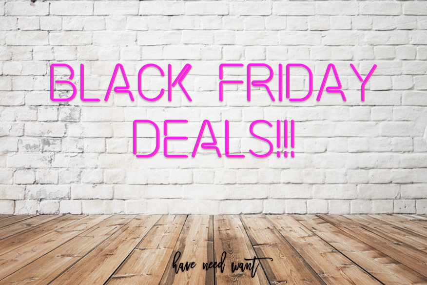 Best Black Friday deals to help you get all your holiday shopping done. #blackfriday #blackfridaydeals #holidayshopping #bestsales