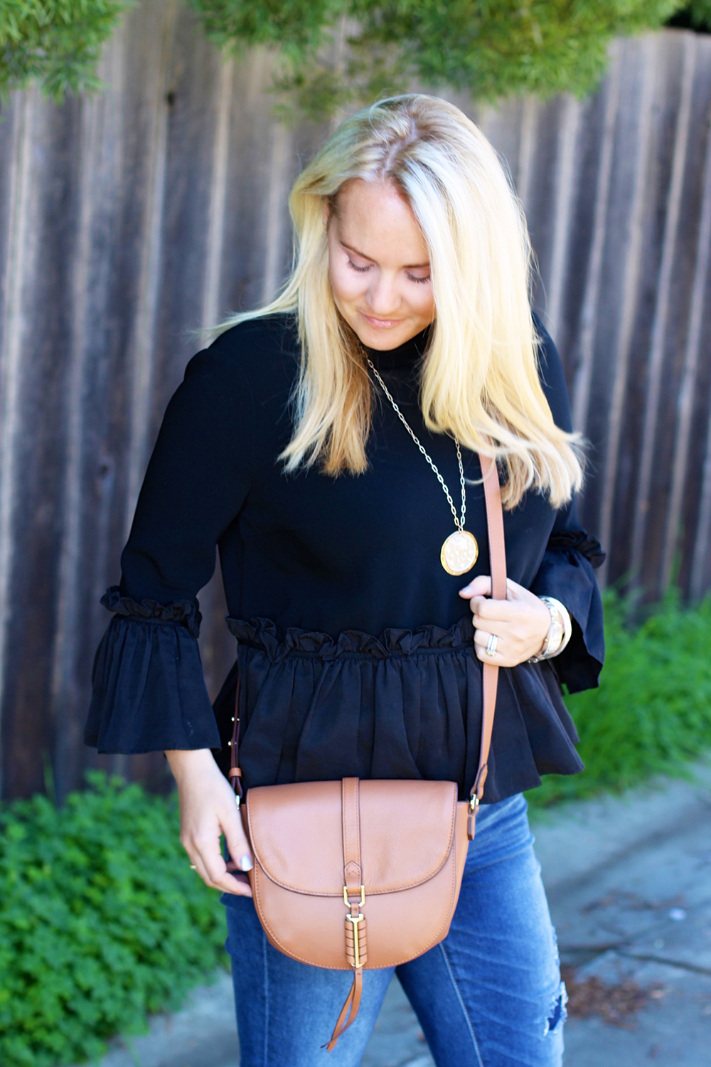Cinq a Sept Flounced Ruffle Top-Outfit Inspiration-Date Night Outfit-Covet by Stella & Dot-Have Need Want 13