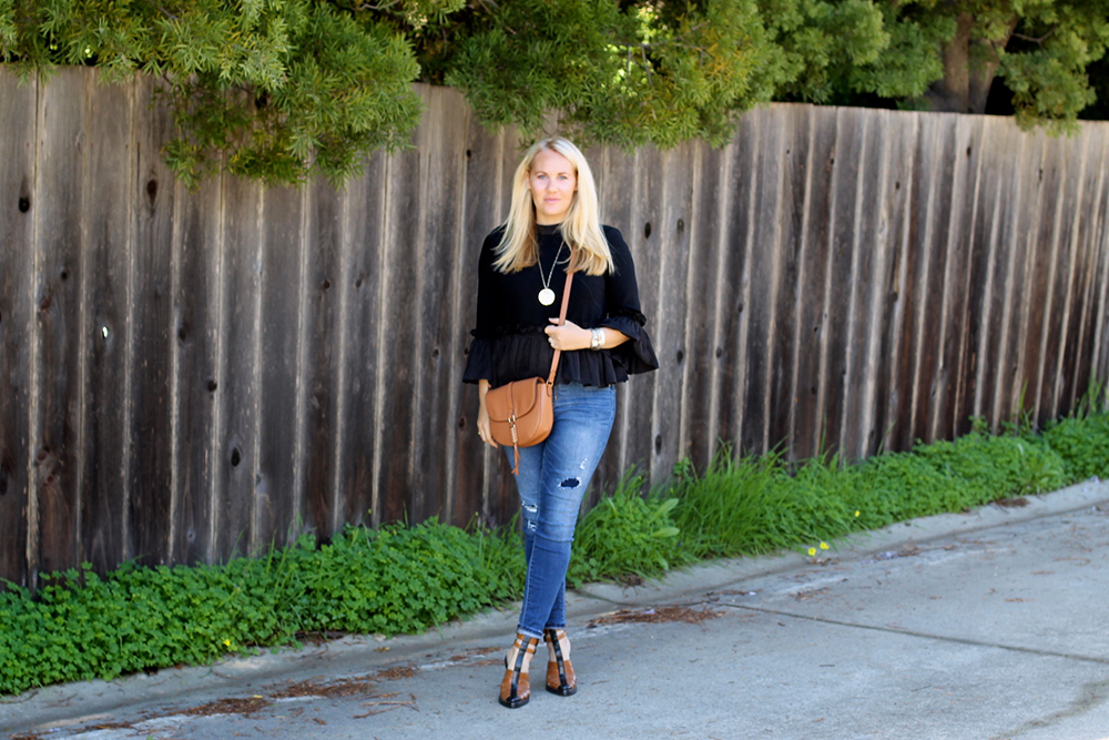 Cinq a Sept Flounced Ruffle Top-Outfit Inspiration-Date Night Outfit-Covet by Stella & Dot-Have Need Want 3
