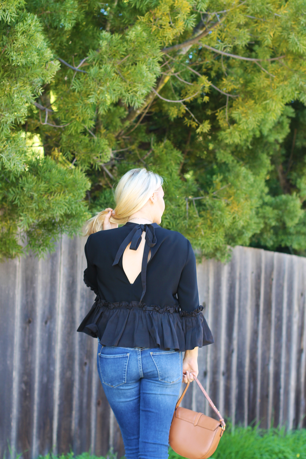 Cinq a Sept Flounced Ruffle Top-Outfit Inspiration-Date Night Outfit-Covet by Stella & Dot-Have Need Want 5