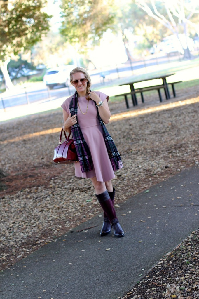 Franco Sarto-Winter Style with ShoeBuy-Tibi dress-Coach-Plaid Scarf-Have Need Want-Outfit Inspiration 5