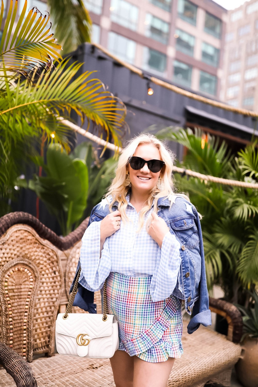 Gingham and Ruffles, Gingham on Gingham Outfit, NYFW, Outfit Inspiration, Have Need Want