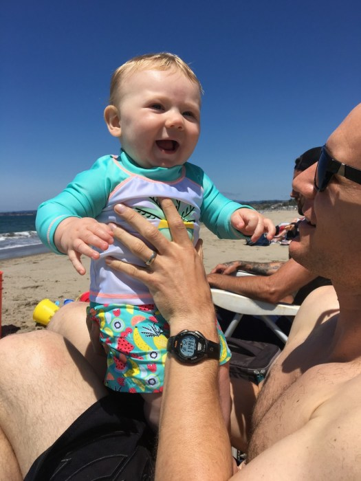 Justin's First Father's Day