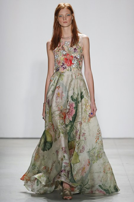 Jenny Packham-NYFW SS16-New York Fashion Week-Runway-Spring Summer 2016 Collection 9