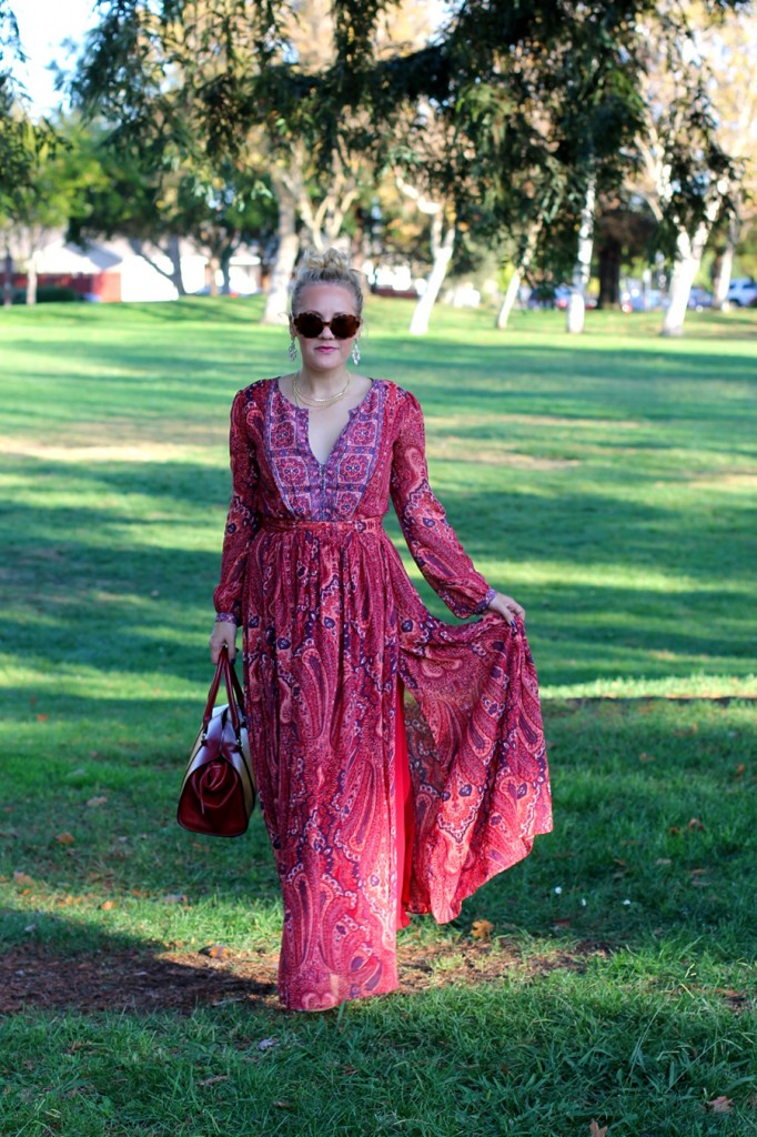 Joie Molly Maxi Dress-Fall Floral-Floral Joie Maxi Dress-Outfit Inspiration-Fashion Blogger-SF Fashion Blogger-Rent the Runway-Unlimited-Rocksbox-Jewelry Subscription-Have Need Want 9