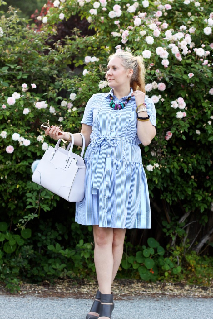 Kate Spade Shirt dress-Spring Style-Outfit Inspiration-Have Need Want-Rebecca Minkoff Handbag-Bay Area Fashion Blogger-San Francisco Blogger 3