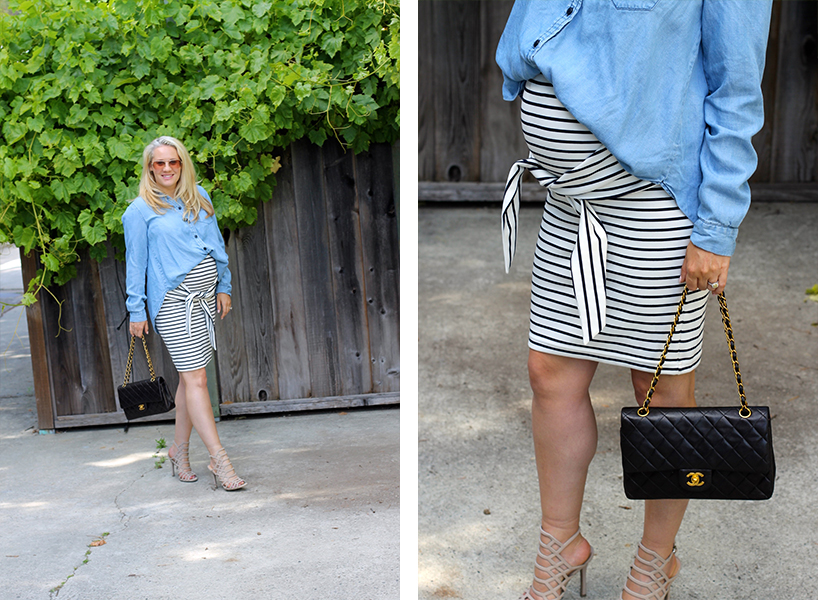 Kingdom-&-State-Tie-Front-Skirt-Maternity-Style-Pregnancy-Style-Chambray-Top-Target-Style-Have-Need-Want-2