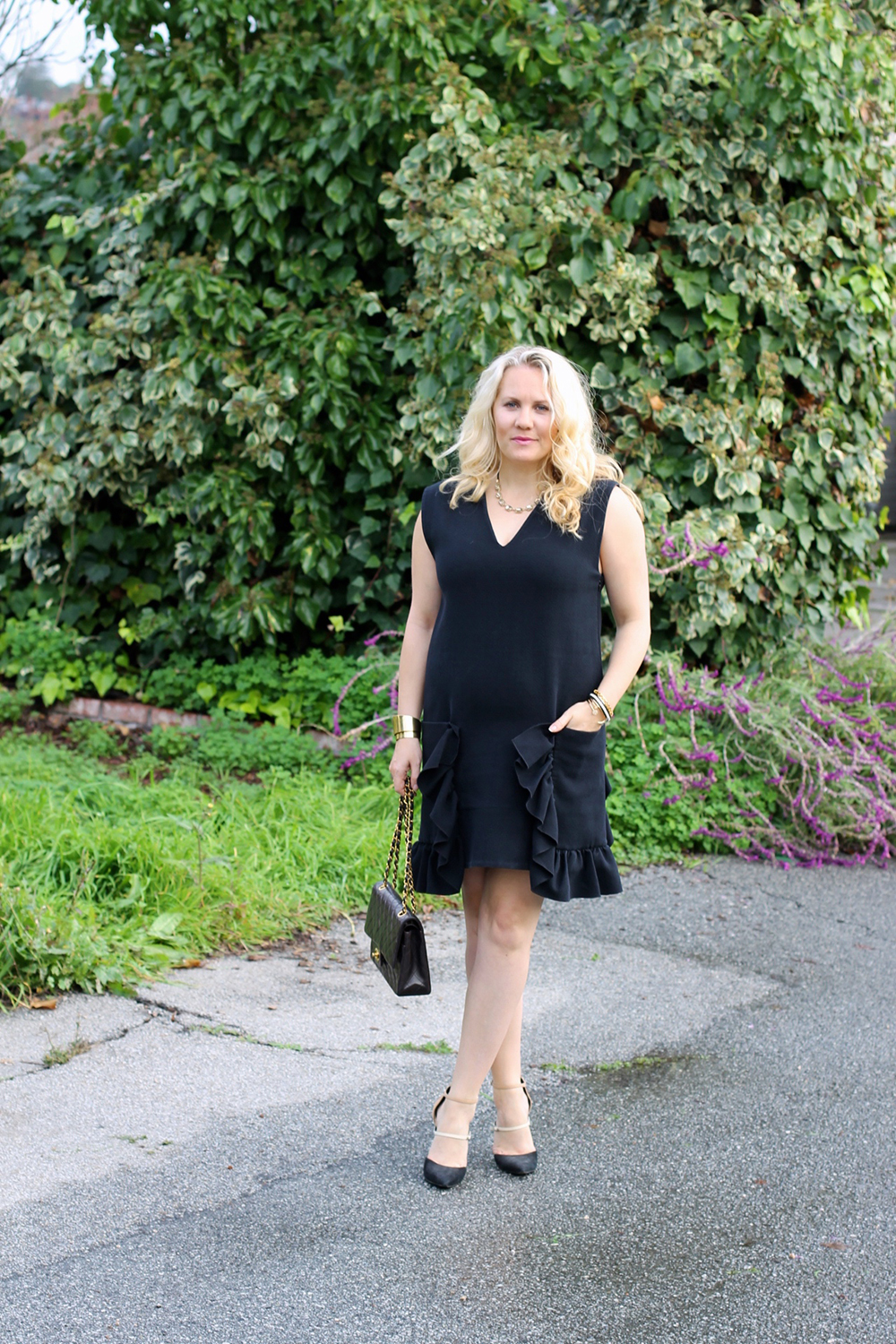 lbd-little-black-dress-ruffle-pockets-marni-rent-the-runway-outfit-inspiration-holiday-style-guide-have-need-want-11