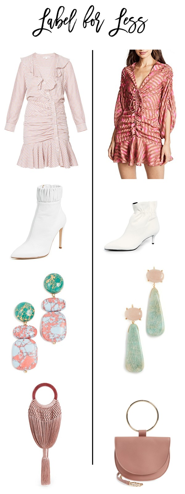 Label for Less NYFW Outfit Inspiration, Veronica Beard, Shopbop, Cult Gaia, Have Need Want