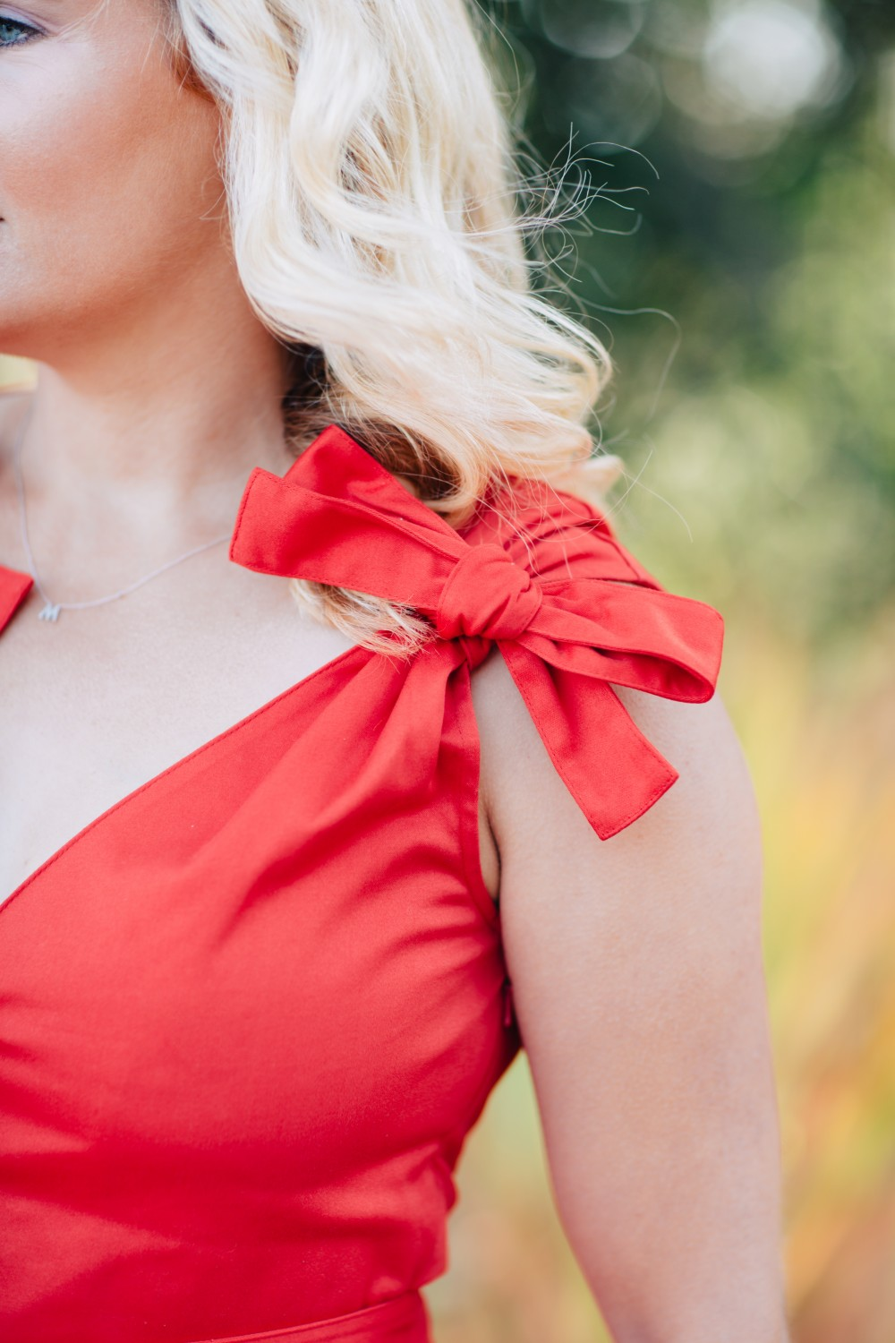 Little Red Dress-Alexis-Bow Detail Dress-Outfit Inspiration-Schutz Heels-Have Need Want 7