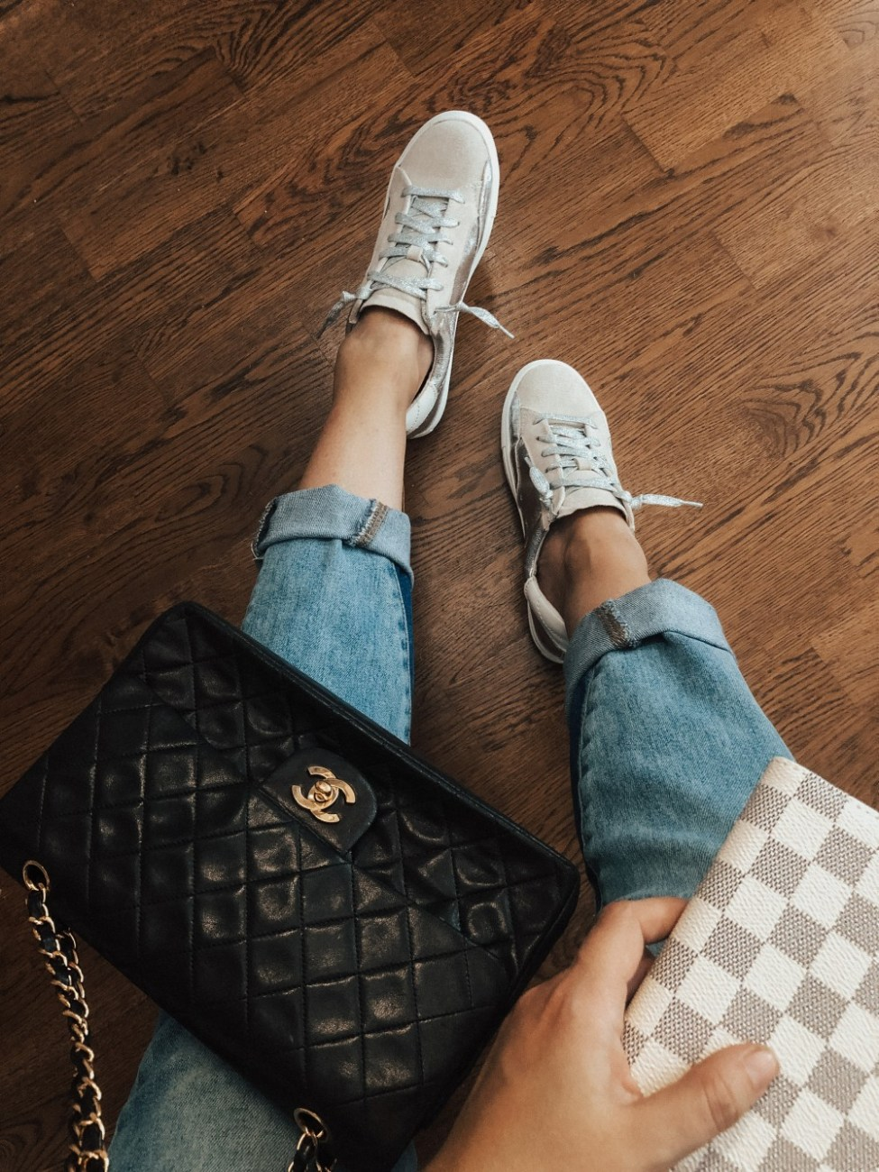 Look for Less - sharing my favorite designer inspired pieces and designer favorites. #lookforless #designerbag #designerinspired #chanel #louisvuitton #goldengoose