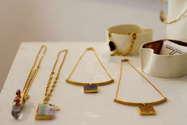 Marrin Costello, Pop Up Shop, NYFW, Stoned collection, jewelry