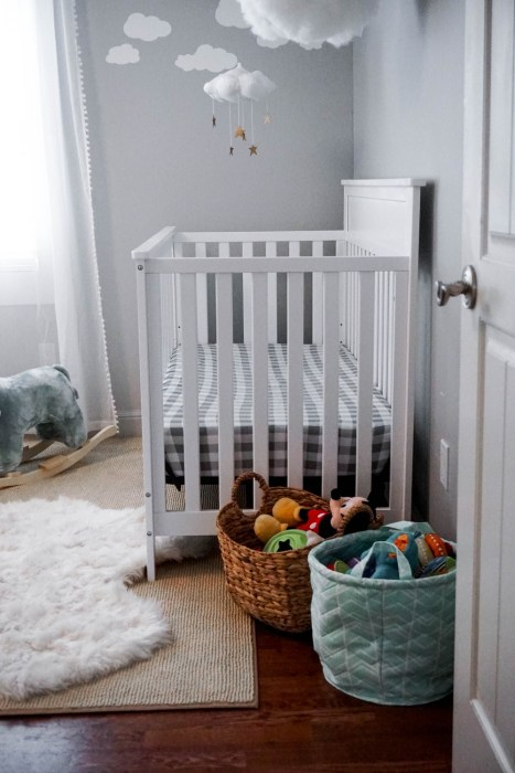 Updating Mason's Nursery with Carter's by DaVinci Crib
