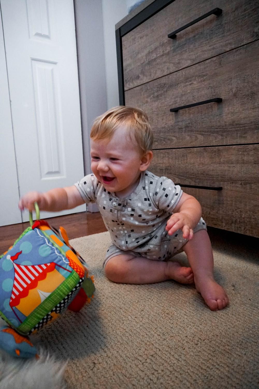 Mason's Updated Nursery Reveal-Carter's for DaVinci Crib-Target Home-Have Need Want-Nursery Room Design-Baby Boy Nursery 13