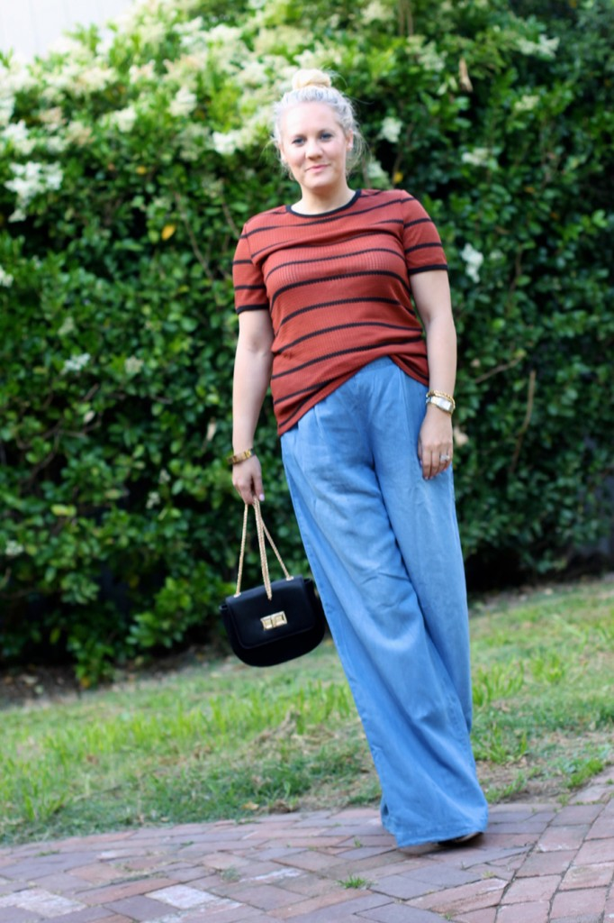 Memorial Day Outfit-Target Style-Who What Wear for Target-Maternity Style-Chambray Wide leg Pants-Have Need Want 7
