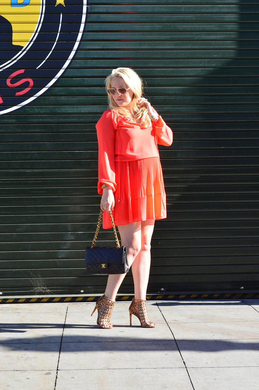 Micahel Kors Dress-Feminine Pleats-Outfit Inspiration-Maternity Style-Fashion Blogger-Have Need Want 6