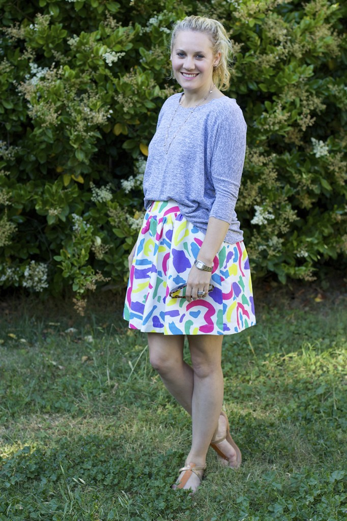 Moschino Jacquard Skirt Anthropologie Anthrofav fashion blogger outfit inspiration style tips 3