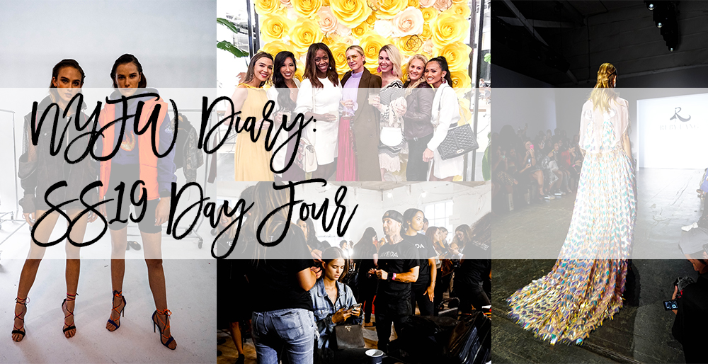 NYFW Diary: SS19 Day Four Recap