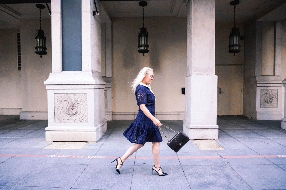 Navy Lace Dress-Draper James-Outfit Inspiration-Santana Row-Draper James Dress-Have Need Want 17