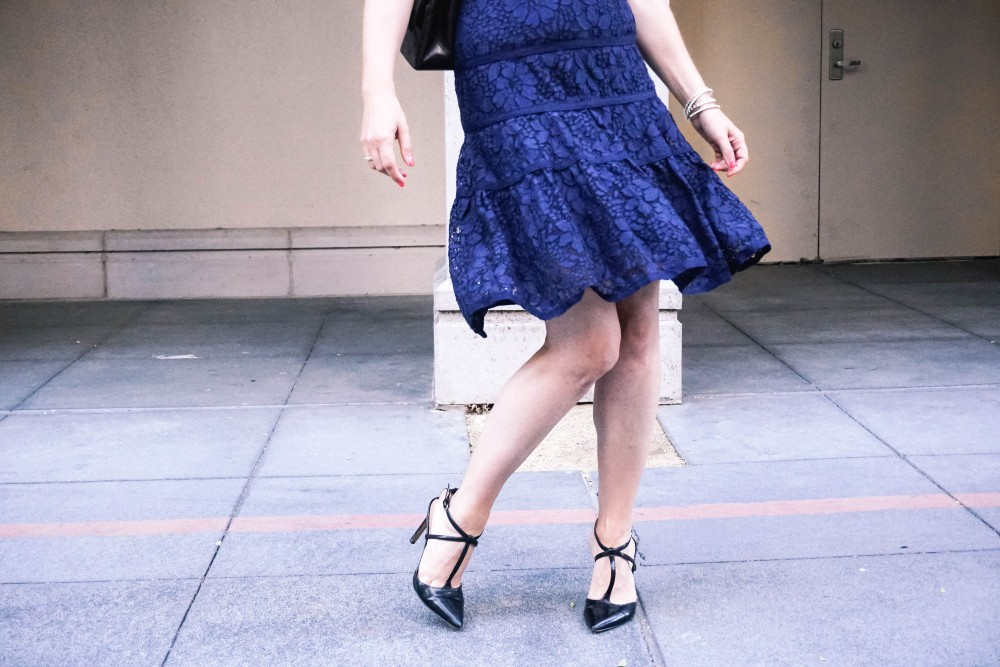 Navy Lace Dress-Draper James-Outfit Inspiration-Santana Row-Draper James Dress-Have Need Want 7