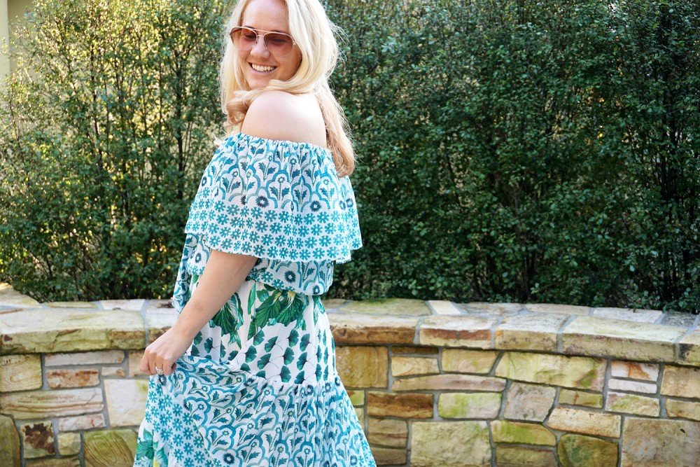 Off The Shoulder Maxi Dress-Temperley London-Outfit Inspiration-Wine Tasting-Visit Carmel by the Sea-Have Need Want 4