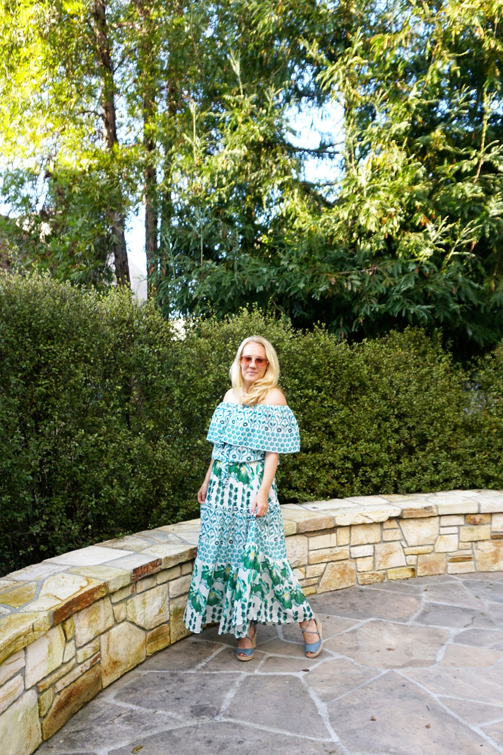 Off The Shoulder Maxi Dress-Temperley London-Outfit Inspiration-Wine Tasting-Visit Carmel by the Sea-Have Need Want 5