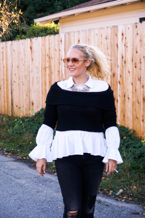 Off the Shoulder Fall Layering