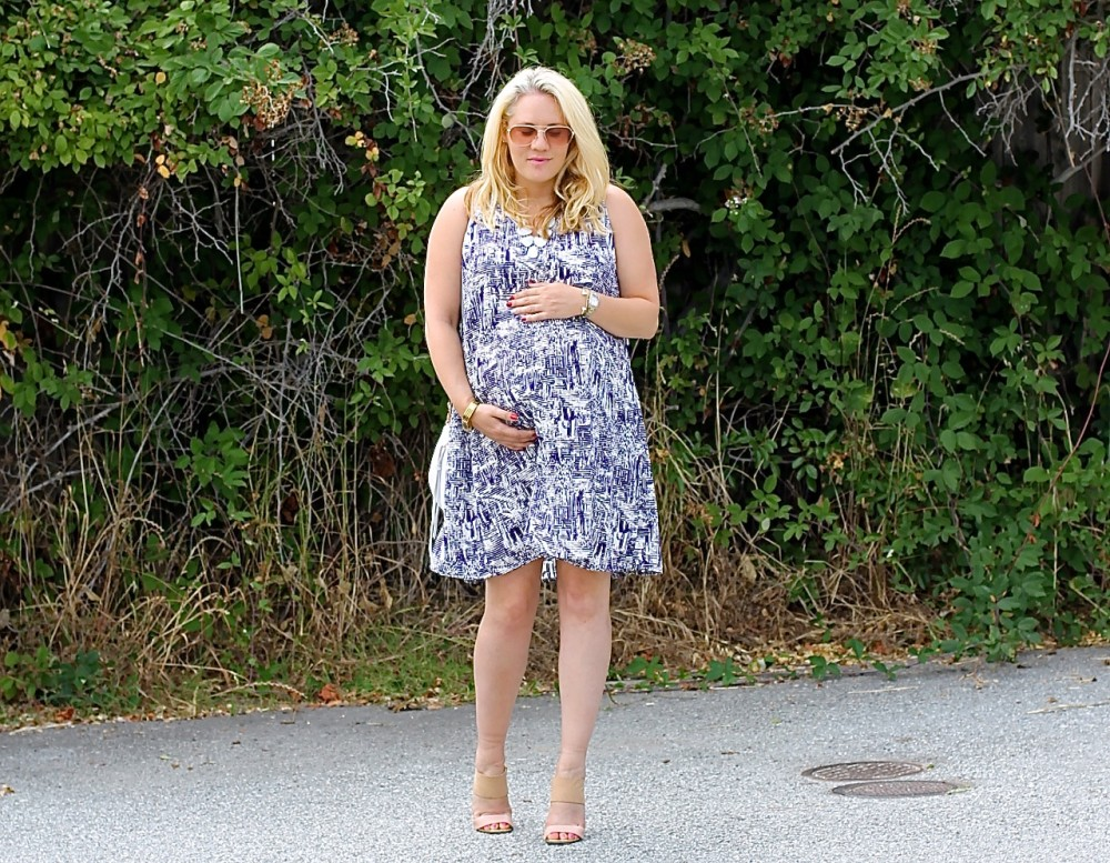PinkBlush Maternity-Maternity Dress-Open Back Maternity Dress-Outfit Inspiration-Have Need Want 5