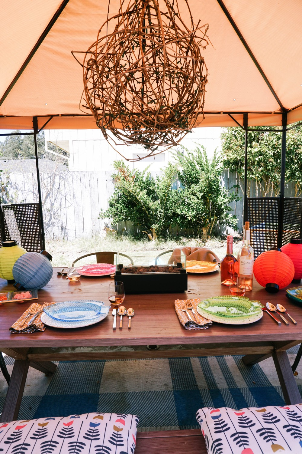 Rosé Party with Martha Stewart Wine Co-Outdoor Entertaining Ideas-Backyard Party-Summer Soiree 14