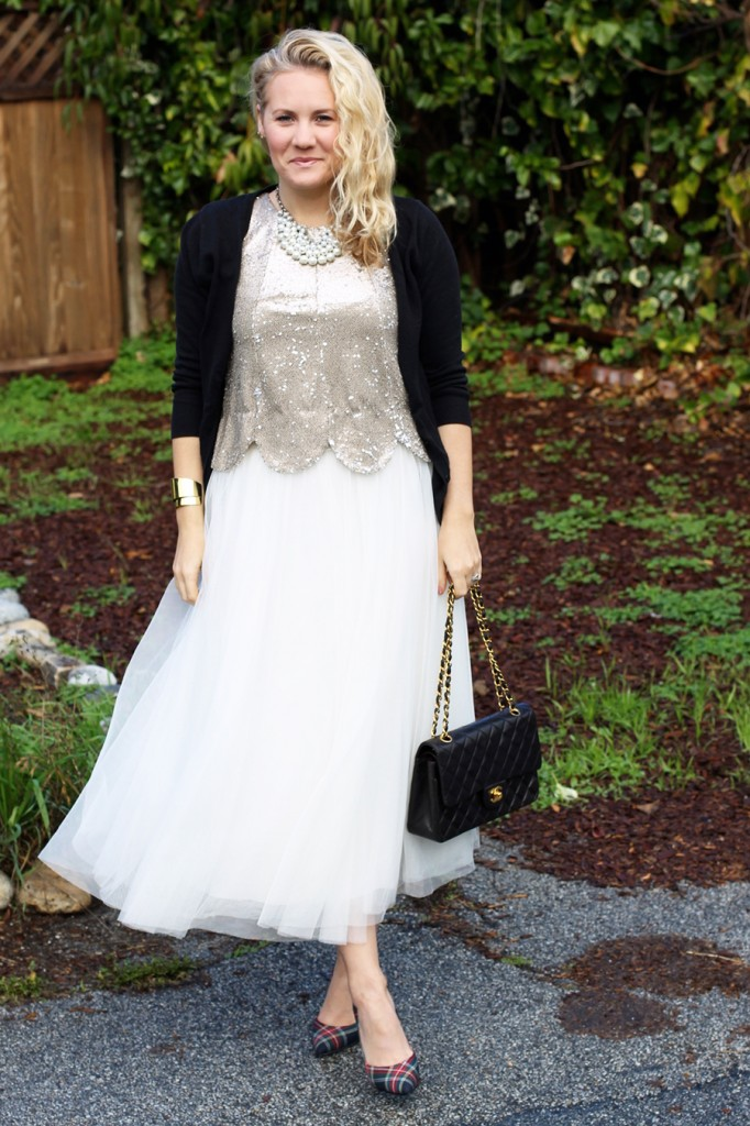 Sequins and Tulle-Holiday Outfit Ideas-Bay Area Fashion Blogger-Have Need Want-Holiday Party Outfit-Outfit Inspiration 3