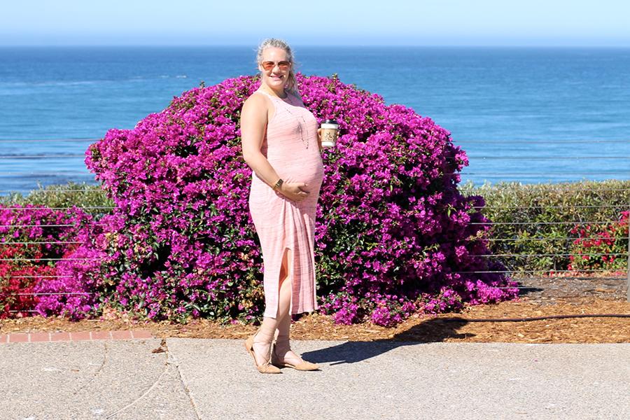Splendid LA-Maternity Style-Have Need Want-Midi Dress 4