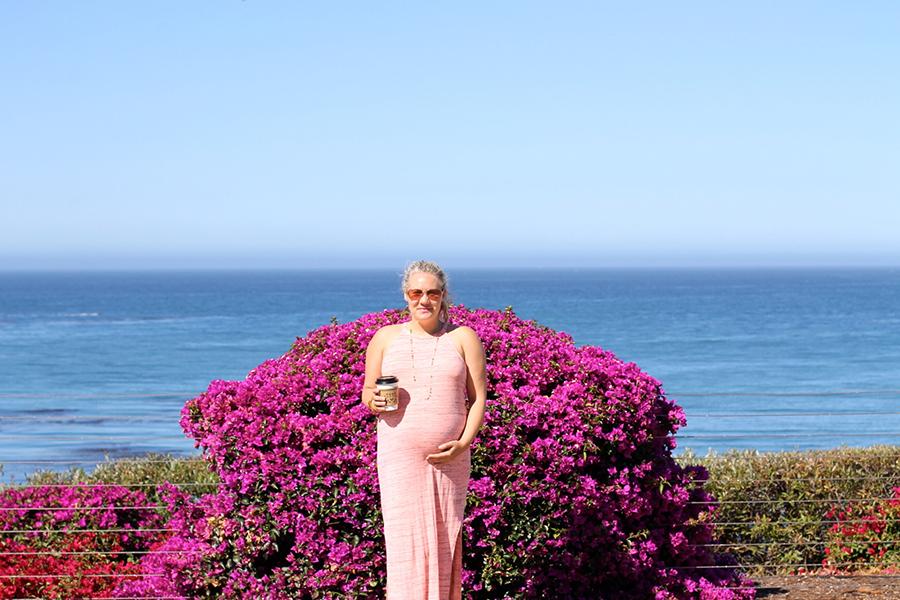 Splendid LA-Maternity Style-Have Need Want-Midi Dress 6