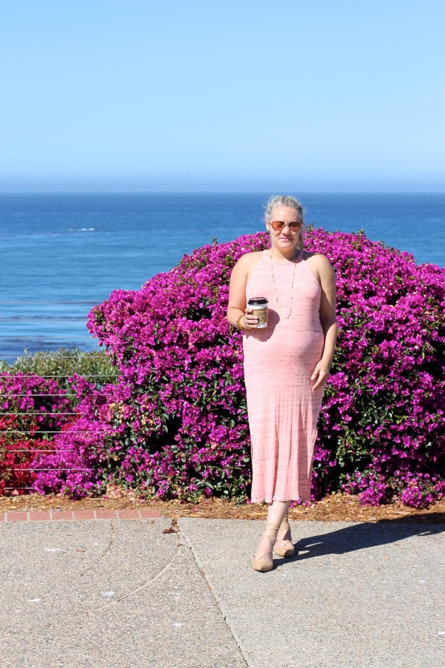 Splendid LA-Maternity Style-Have Need Want-Midi Dress 9