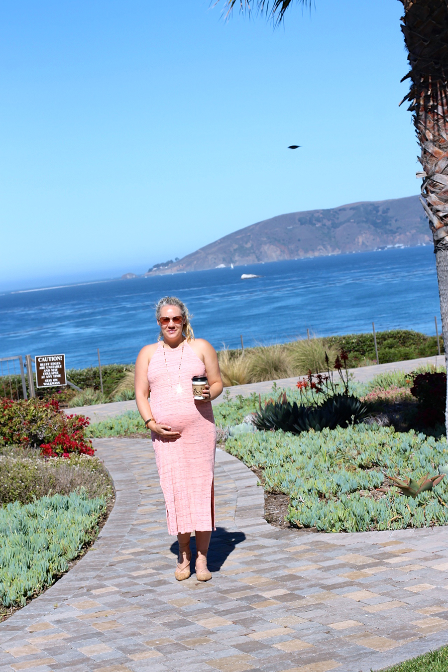 Splendid LA-Maternity Style-Have Need Want-Midi Dress