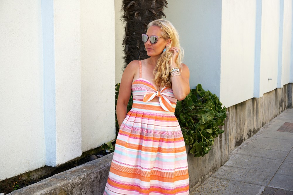 Spring Stripe Dress-Stripes and Cut Outs-Outfit Inspiration-Bay Area Blogger-Summer Dress-Sunday Best Outfit Inspiration-Have Need Want 10