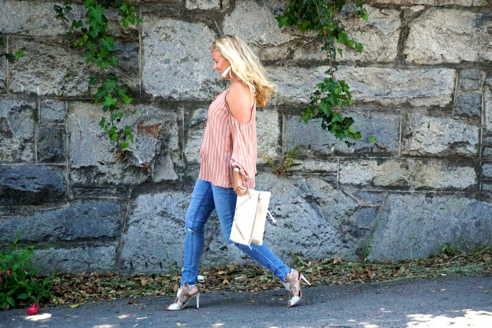 Stripe cold shoulder top-cold shoulder trend-spring style-outfit inspiration-have need want 4
