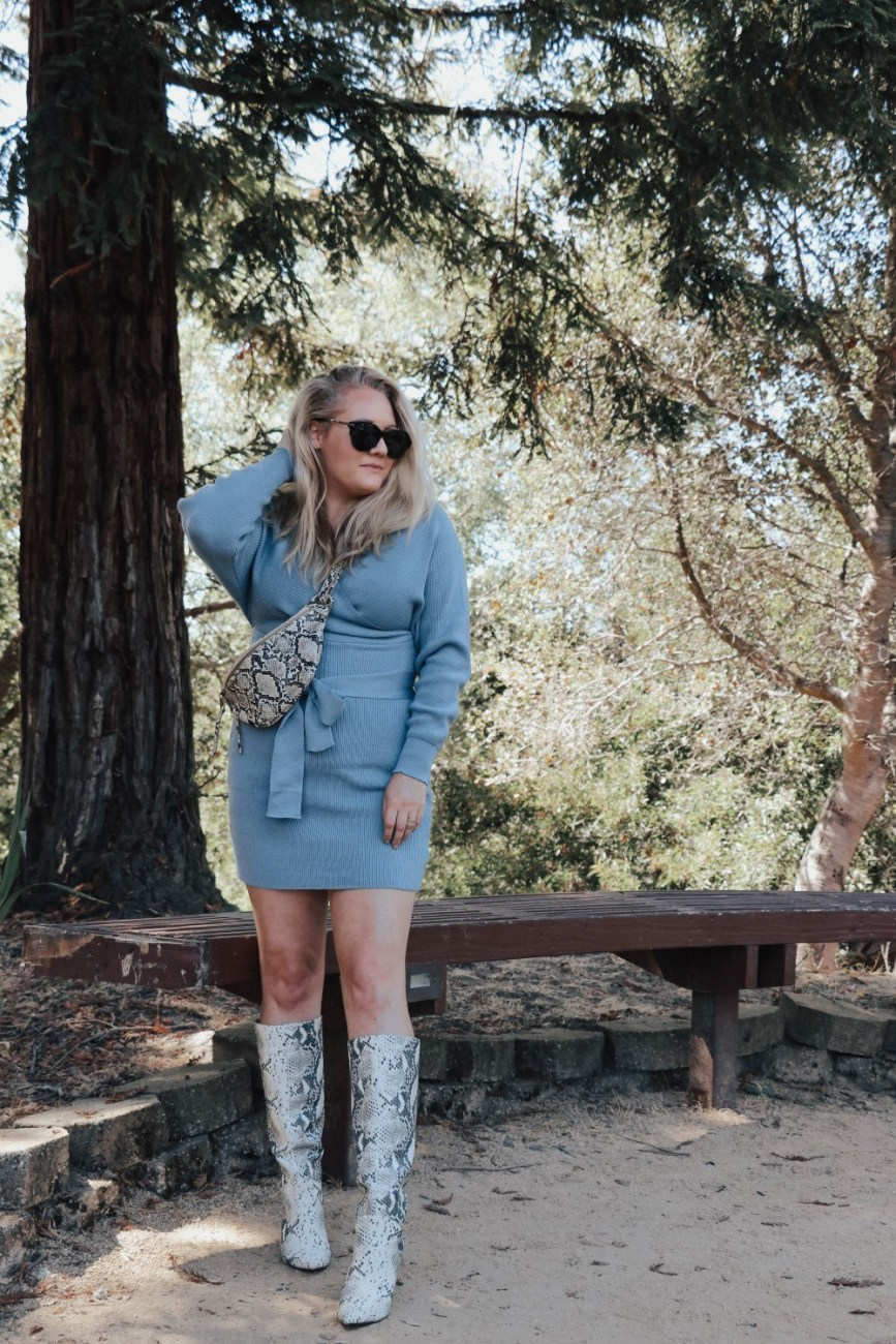 It's sweater dress season so I wanted to share some of my favorite sweater dresses under $50 from Amazon! #sweaterdress #fallstyle #falloutfit