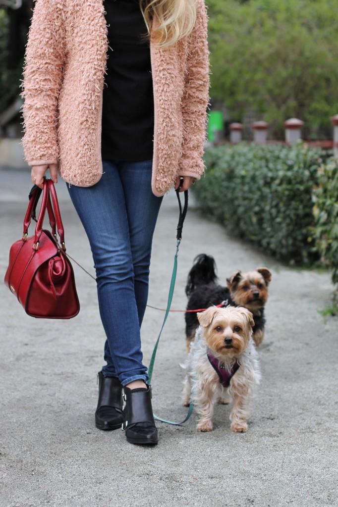 Ted Baker-embellished shoulder blouse-Weekend Style-English Factory Jacket-Sam Edelman Shoes-Burberry Handbag-Spring Transition-Fashion Blogger-Bay Area Fashion Blogger-Have Need Want Blog