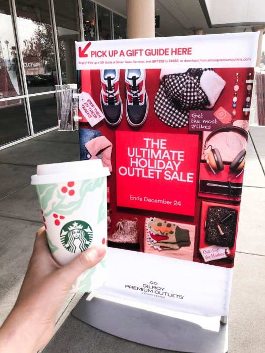 The Ultimate Holiday Outlet Sale at the Gilroy Premium Outlets | Have Need Want #holidaygiftguide #giftgivingmadeeasy #outletshopping #simonmalls #gilroypremiumoutlets #holidayshopping