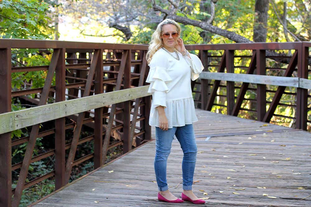 tiered-ruffle-sleeve-sweater-outfit-inspiration-fall-fashion-chicwish-sweater-have-need-want-4