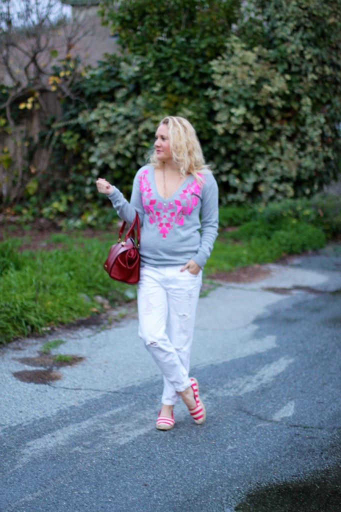 Trina Turk Sweater-Valentines Day Outfit Inspiration-Casual Style-Fashion Blogger-Bay Area Blogger-Valentines Day Outfit 5