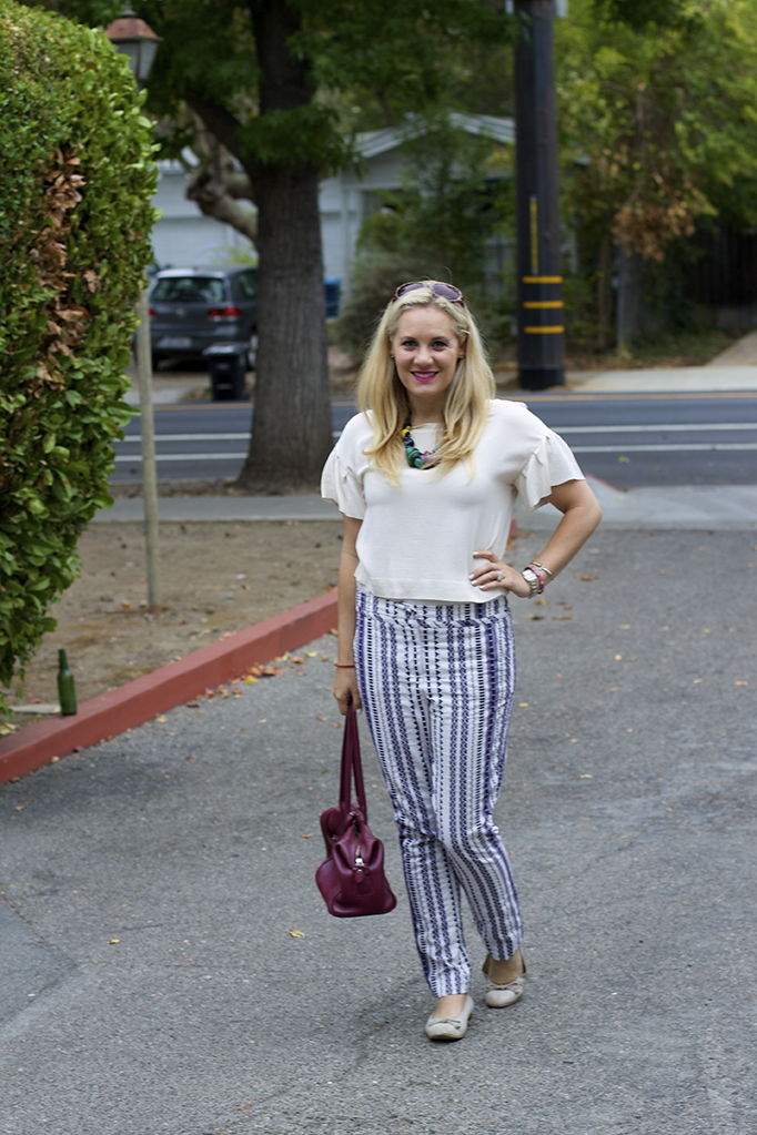 pattern pants, Trina turk, pattern play, work week, blogger style, style guide, bay area fashion blogger, top fashion bloggers, SF fashion blogger
