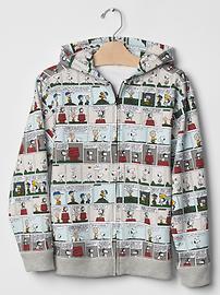 peanuts comic hoodie