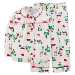 Target Santa and Reindeer Jammies